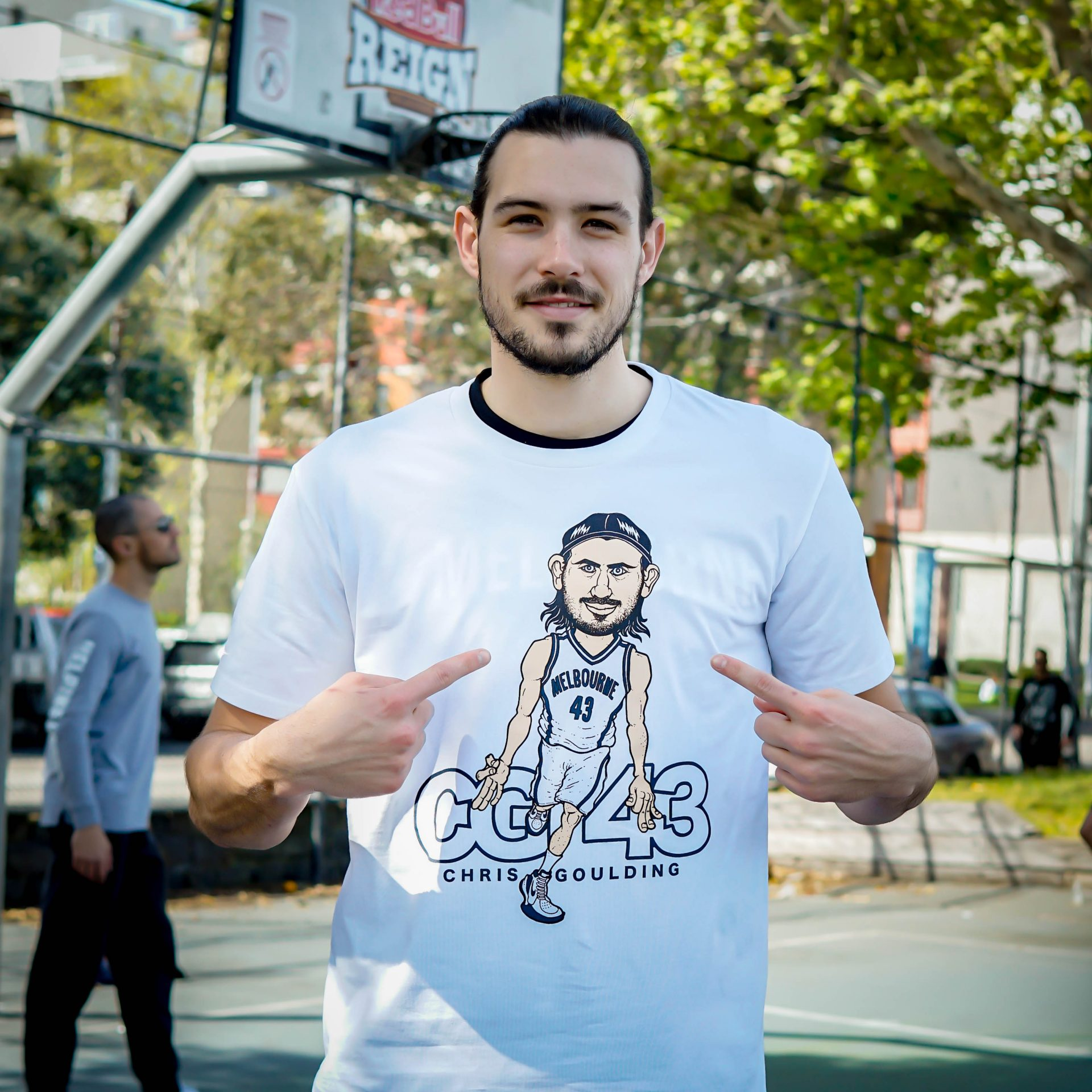 Chris Goulding T-Shirt Released