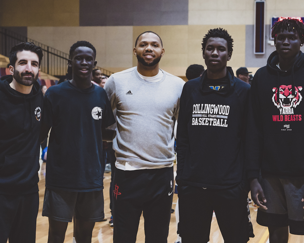 Eric Gordon Camp 2018