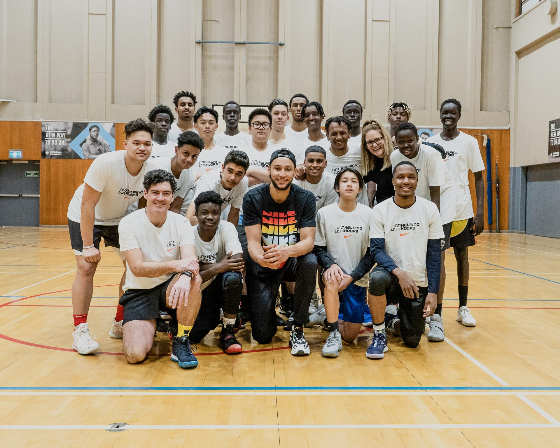 Ben Simmons Announces Partnership With Helping Hoops