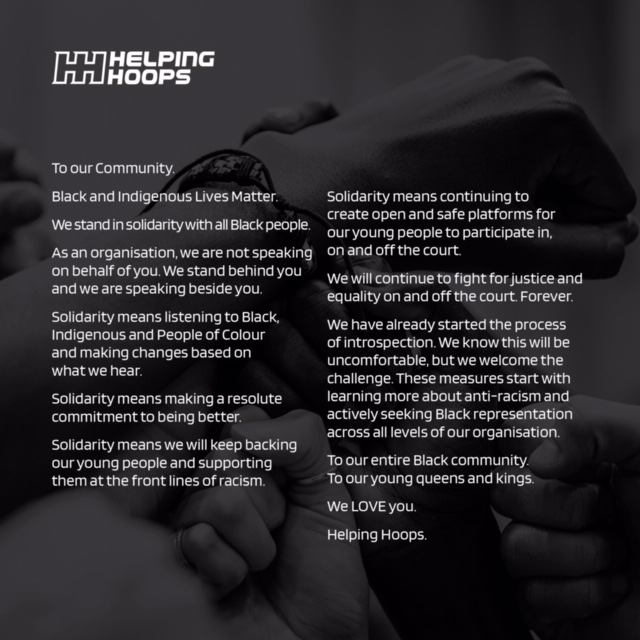 To our Community